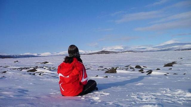 Auroras Boreales en Laponia
